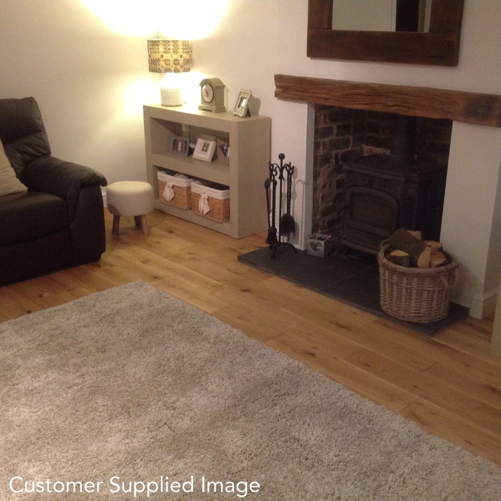 Gold Series Solid Oak Flooring 18mm X 150mm Brushed And Oiled 198m2