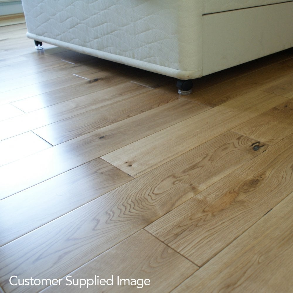 Gold Series Oak Lacquered 150mm Wood Flooring