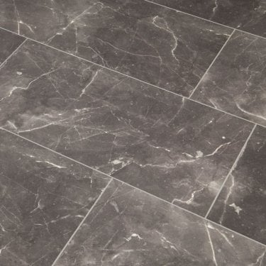 High Gloss 8mm Botticino Dark Tile V-Groove AC4 1.996m2
