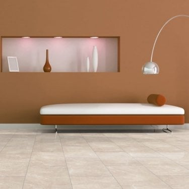 High Gloss 8mm Botticino Light Tile V-Groove AC4 1.996m2