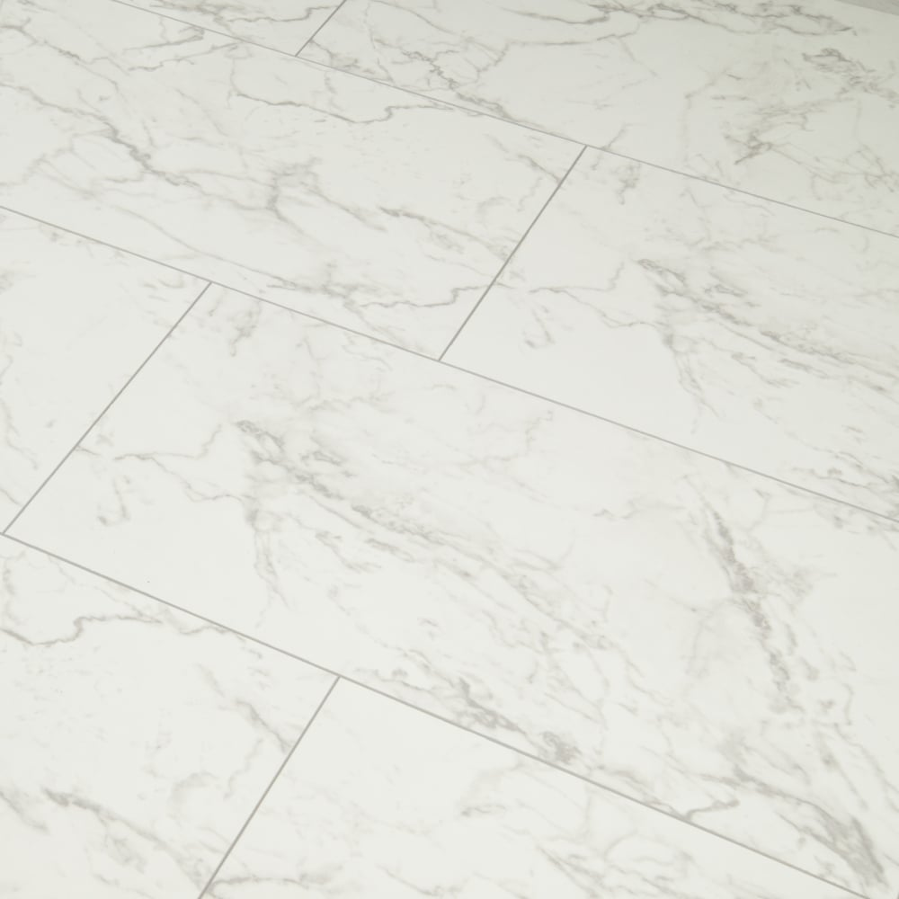Carrara Marmor high gloss 8mm carrara marmor v groove ac4 1 996m2 laminate from