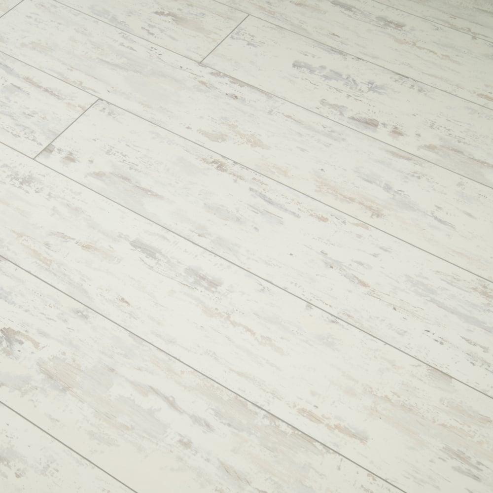 High Gloss 8mm Laminate Flooring Distressed White Oak 2 125m2
