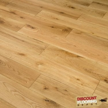 Hillwood - 18mm x 125mm Engineered Wood Flooring - Oak Brushed and Oiled