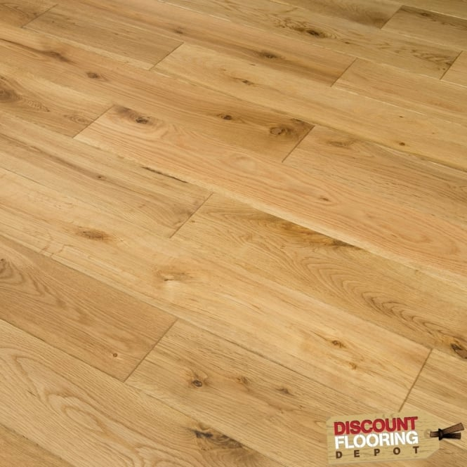 Hillwood Collection Engineered Flooring 18/5mm x 125mm Oak Brushed and Oiled 1.2m2