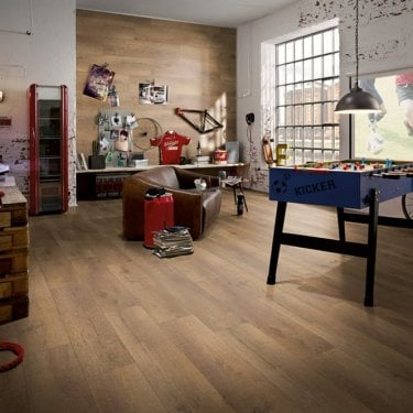 Horizon - 8mm Laminate Flooring - Dark Lyon Oak