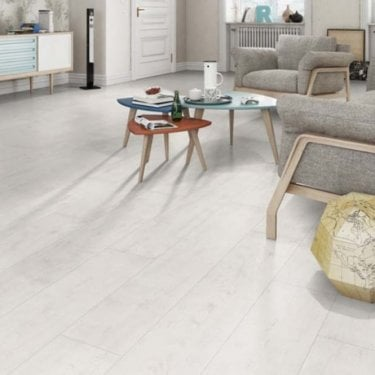 Horizon - 8mm Laminate Flooring - White Oak