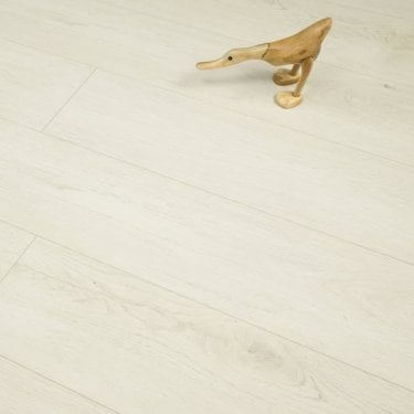 Hydro Guard 8mm Pearl White Oak Laminate V-Groove AC4 1.99m2