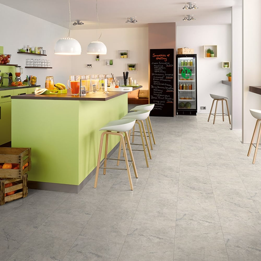 Tile effect laminate flooring tiles from just 1269 m discount hydro guard 8mm roman white tile laminate v groove ac4 253m2 doublecrazyfo Image collections