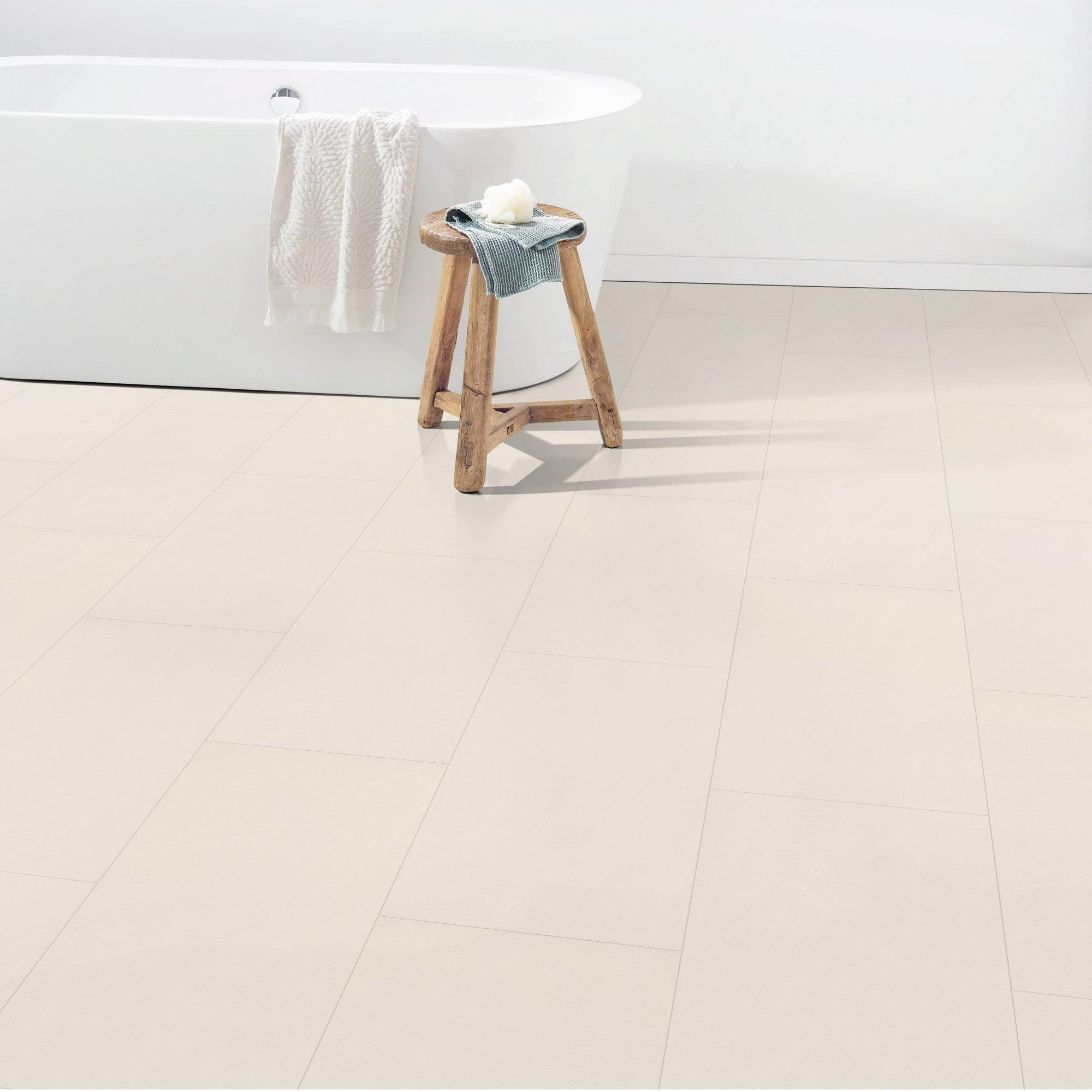 Hydro Guard   9mm Water resistant Laminate Flooring   Limestone Tile Effect