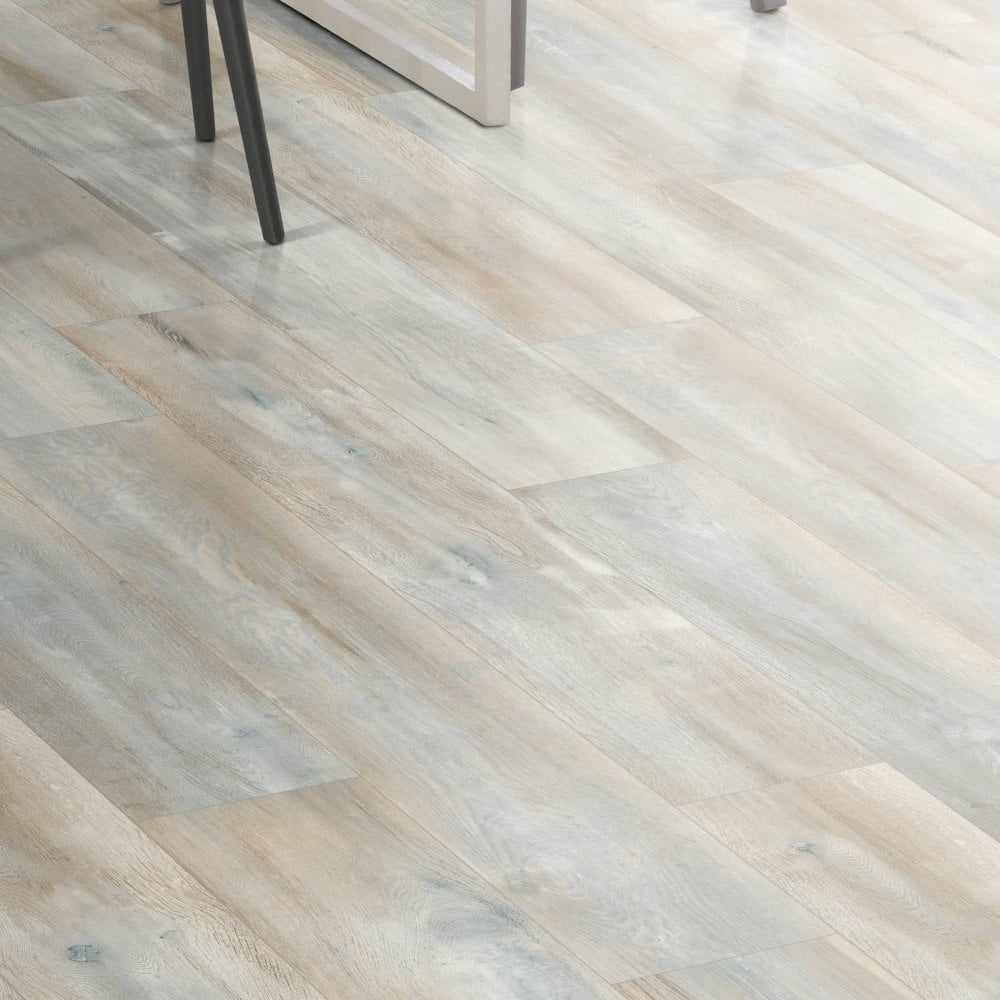 Rustic White Water Resistant Laminate, White Distressed Laminate Flooring