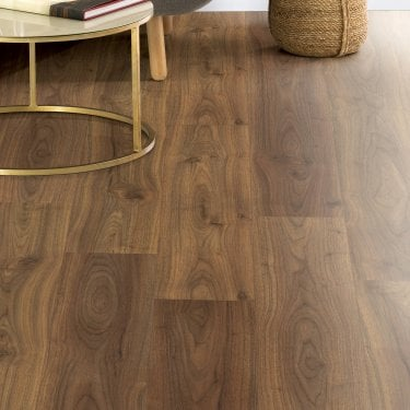 Hydro Guard - 8mm Waterproof Laminate Flooring - Caramel Walnut