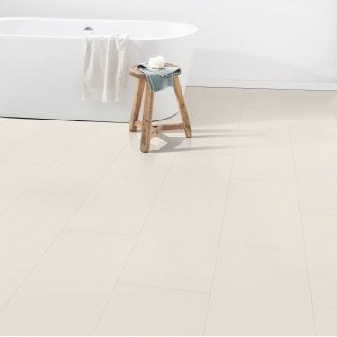 Hydro Guard - 8mm Waterproof Laminate Flooring - Limestone Tile Effect