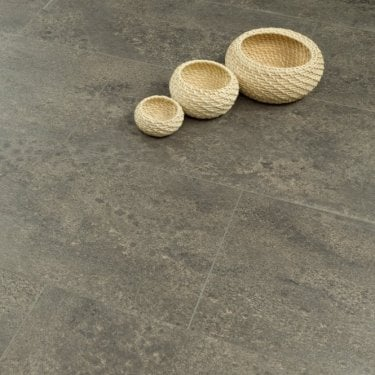 Hydro Guard - 8mm Waterproof Laminate Flooring - Midnight Granite Tile Effect