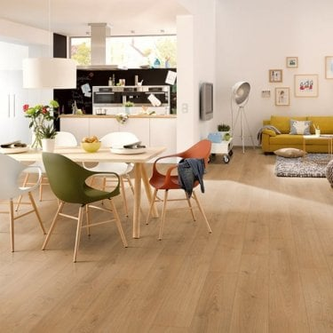 Hydro Guard - 8mm Waterproof Laminate Flooring - Modern Oak