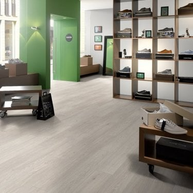 Hydro Guard - 8mm Waterproof Laminate Flooring - Swedish Oak
