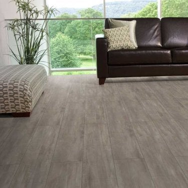 Hydro Regenerate - Hybrid LVT Flooring - Dark Grey