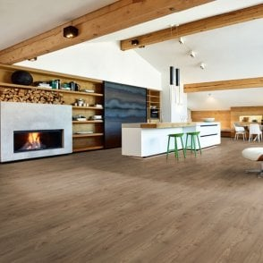 Hydro Regenerate - Hybrid LVT Flooring - Dark Smoked Oak