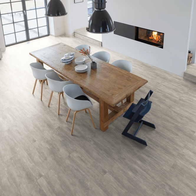 Hydro Regenerate - Hybrid LVT Flooring - Light Grey