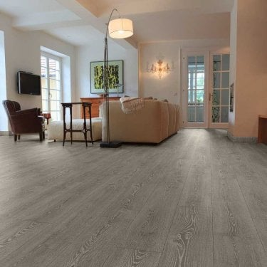 Hydro Regenerate - Hybrid LVT Flooring - Smoke Grey Oak