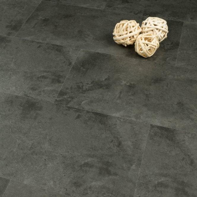 Imperial Tile Effect - SPC Vinyl Click - Graphite Grey Slate 1.80m2