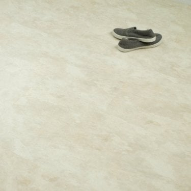 Imperial Tile Effect - SPC Vinyl Click - Natural White Stone