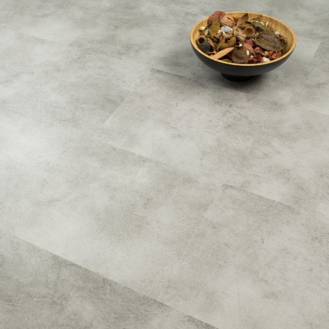 Imperial Tile Effect - SPC Vinyl Click - Sky Grey Oak