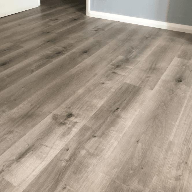 Imperial Wood Effect - Vinyl Click Flooring - Grey Steel Oak