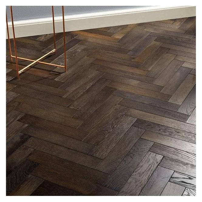 Lakewood Engineered 14/3mm Herringbone Parquet Flooring - Vintage Oak Brushed and Oiled