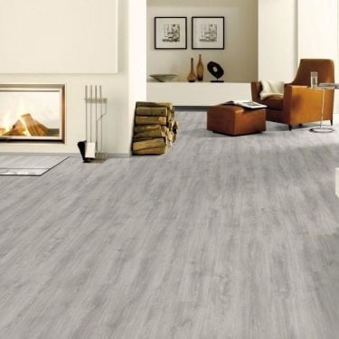 Living - 6mm Laminate Flooring - Light Grey North Cape