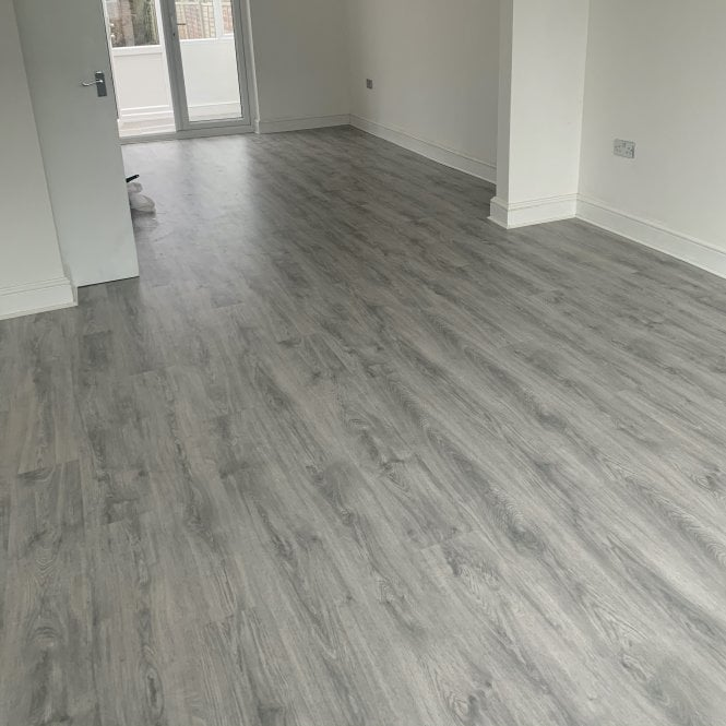Living - 6mm Laminate Flooring - Light Grey North Cape