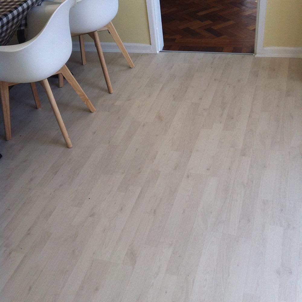 Polar Oak Laminate Flooring, Estate Living Laminate Flooring
