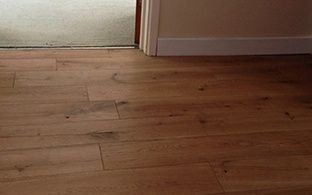 Gold Series Solid Oak Flooring 18mm x 150mm Brushed and Oiled