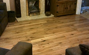 Solid Oak 18mm x 90mm Lacquered