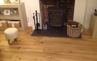 Gold Series Solid Oak 18mm x 150mm Brushed and Oiled