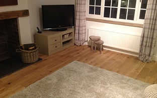 Gold Series Solid Oak 18mm x 150mm Brushed and Oiled two