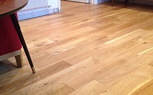 Gold Series Engineered Oak Flooring Brushed and Oiled
