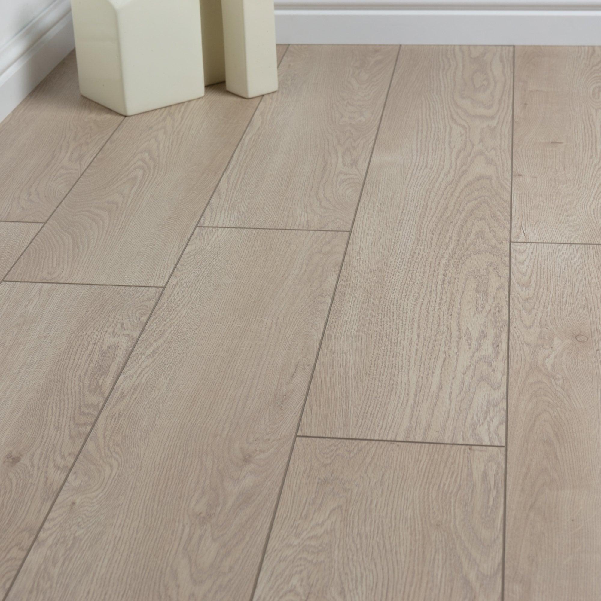 12mm Laminate Flooring Morning Oak, Oak Color Laminate Flooring