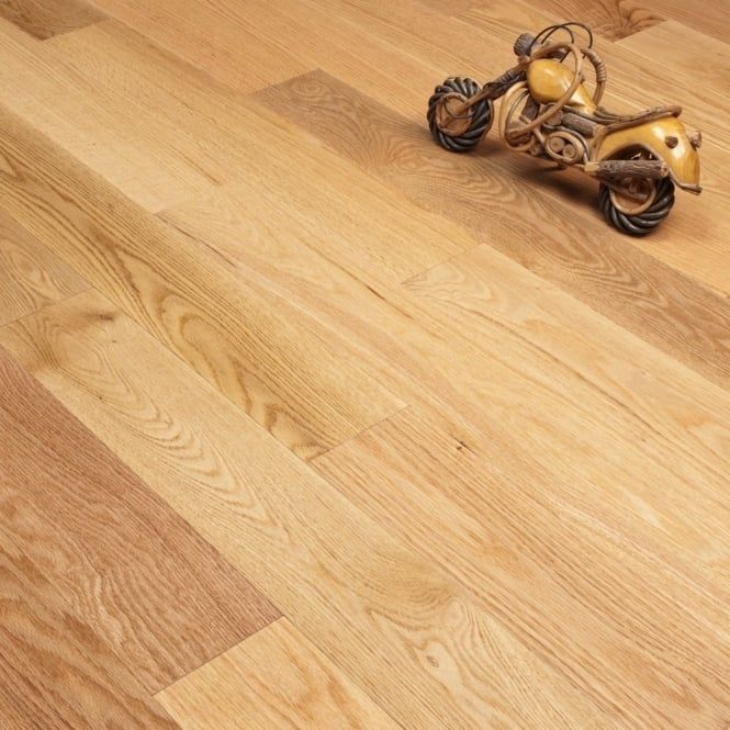 Majestic - 18mm Engineered Oak Flooring - Red Oak Lacquered - 1.575m2