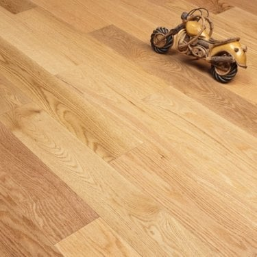 Majestic Engineered Red Oak Flooring 18/4.5mm x 125mm Lacquered 1.575m2