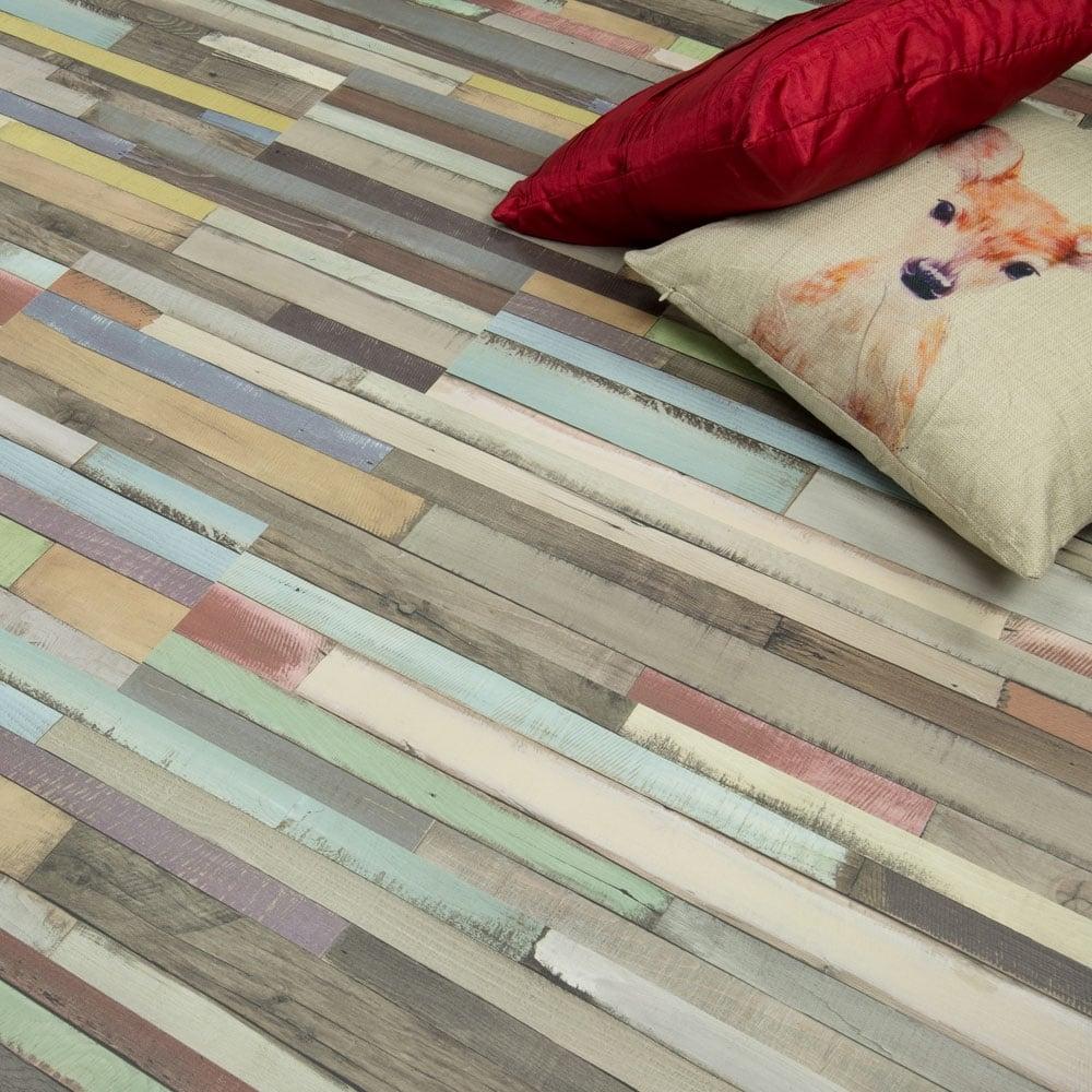 Manhattan multi art oak laminate flooring for Art laminate flooring