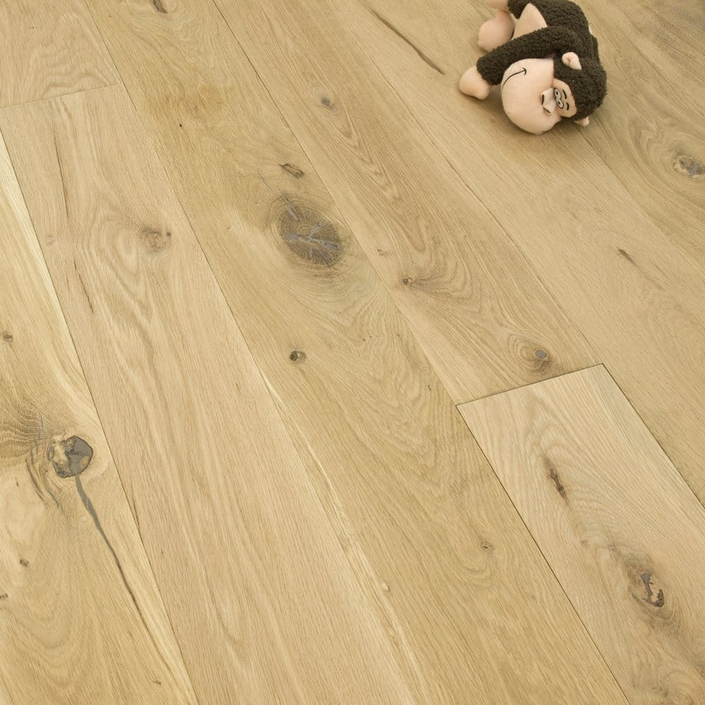 Medallion Series Solid Oak Flooring 22mm X 145mm Unfinished