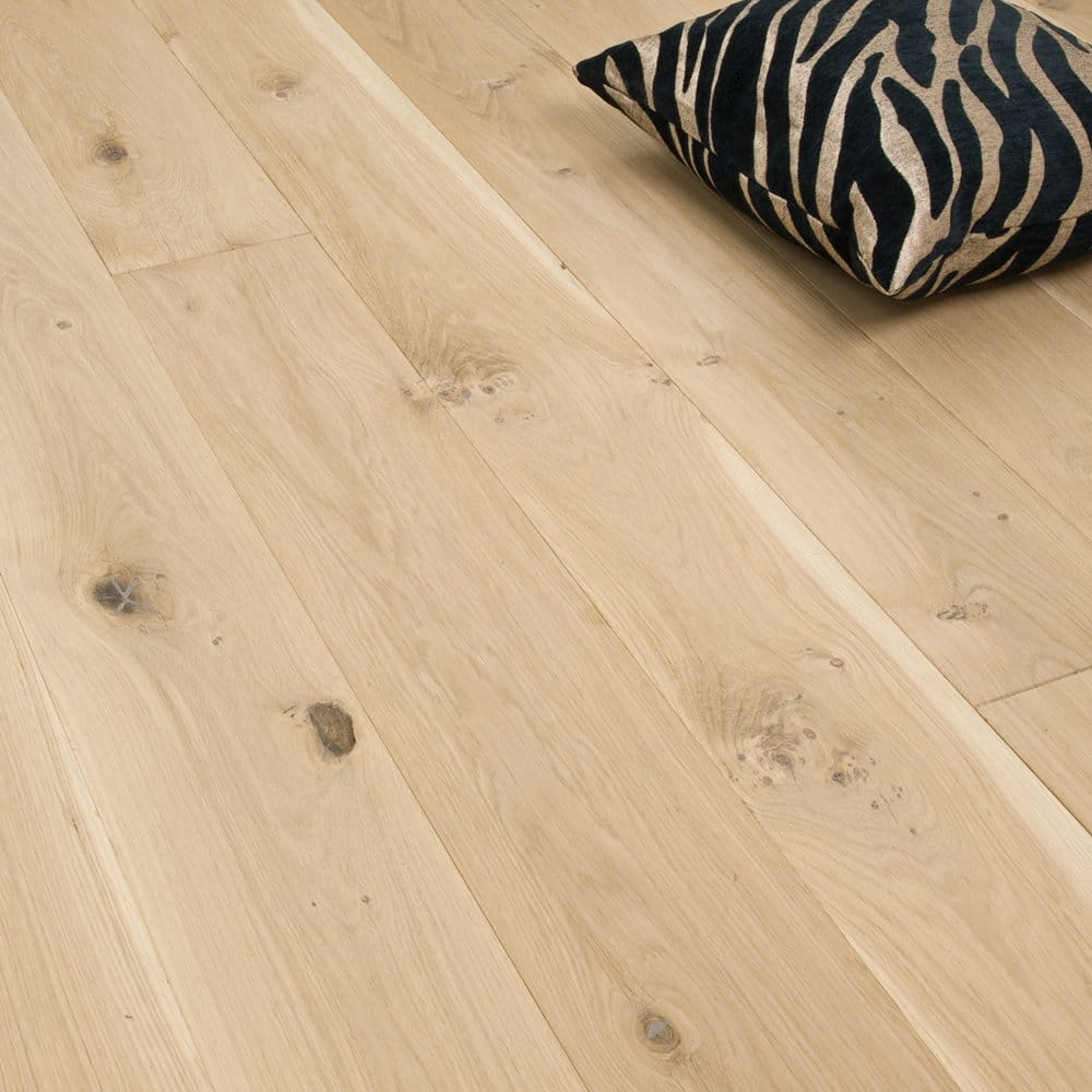 Medallion series solid oak flooring 22mm x 175mm for Unfinished oak flooring