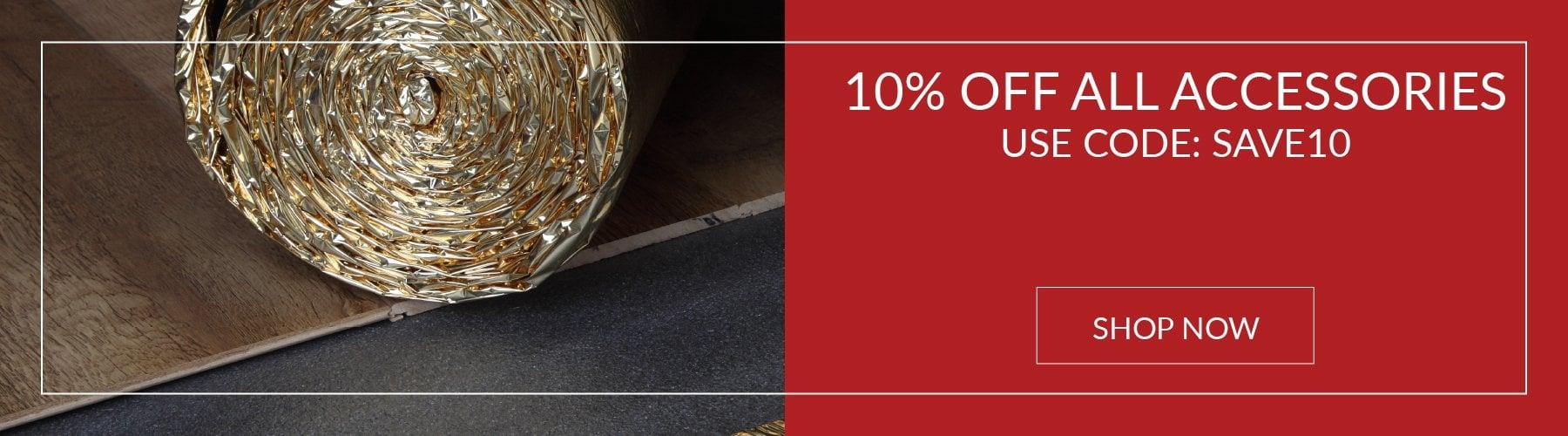 10% Accessories