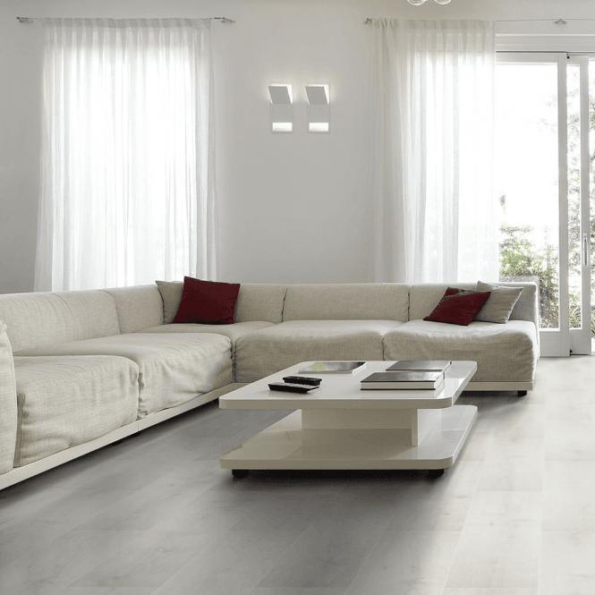Monte Carlo - 12 mm Laminate Flooring Cotton White