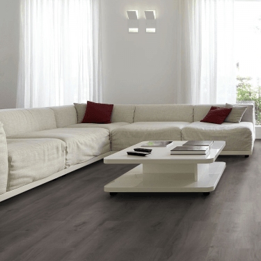 Monte Carlo - 12 mm Laminate Flooring Lead Grey