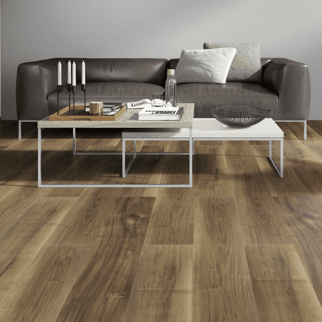 Monte Carlo - 12 mm Laminate Flooring Rustic Walnut