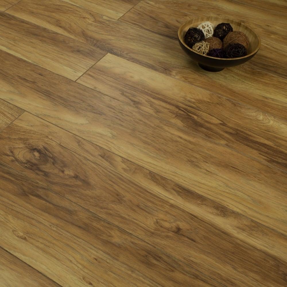 hickory hardwood flooring valley legacy | Supreme Legacy - 8mm Laminate Flooring - Hampton Hickory ...