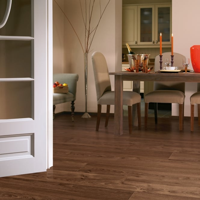 Natures Valley - 8mm Laminate Flooring - Tasmanian Walnut