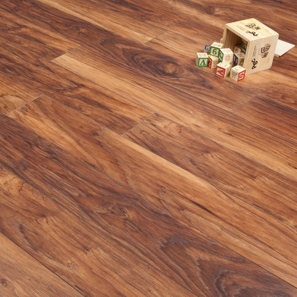 newtown hickory 8mm v groove ac4 laminate from. Black Bedroom Furniture Sets. Home Design Ideas