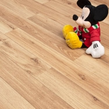 Newtown Wood - 8mm Laminate Flooring - French Oak